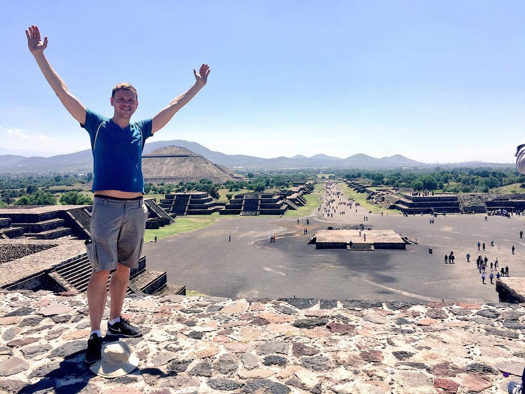 Auf eigene Faust bei den Pyramiden von Teotihuacan
