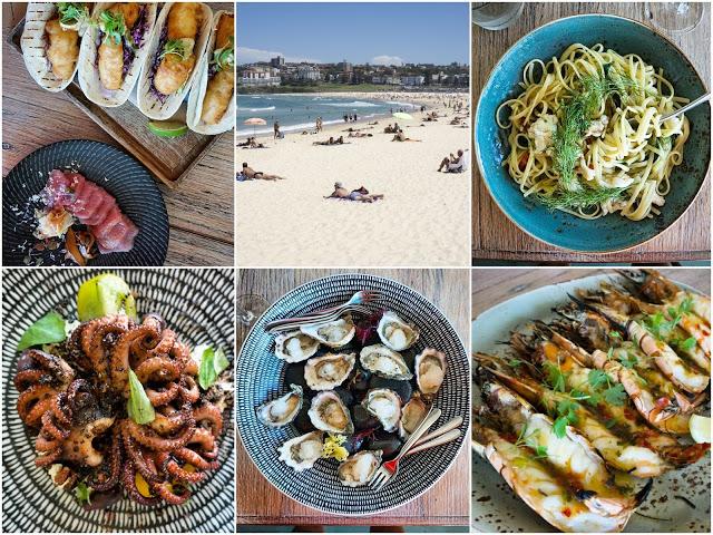 von Leyla lerne ich, dass man Essen am besten als Fotocollage darstellt. Mehr kulinarische Sydney-Eindrücke von Leyla gibt es hier
