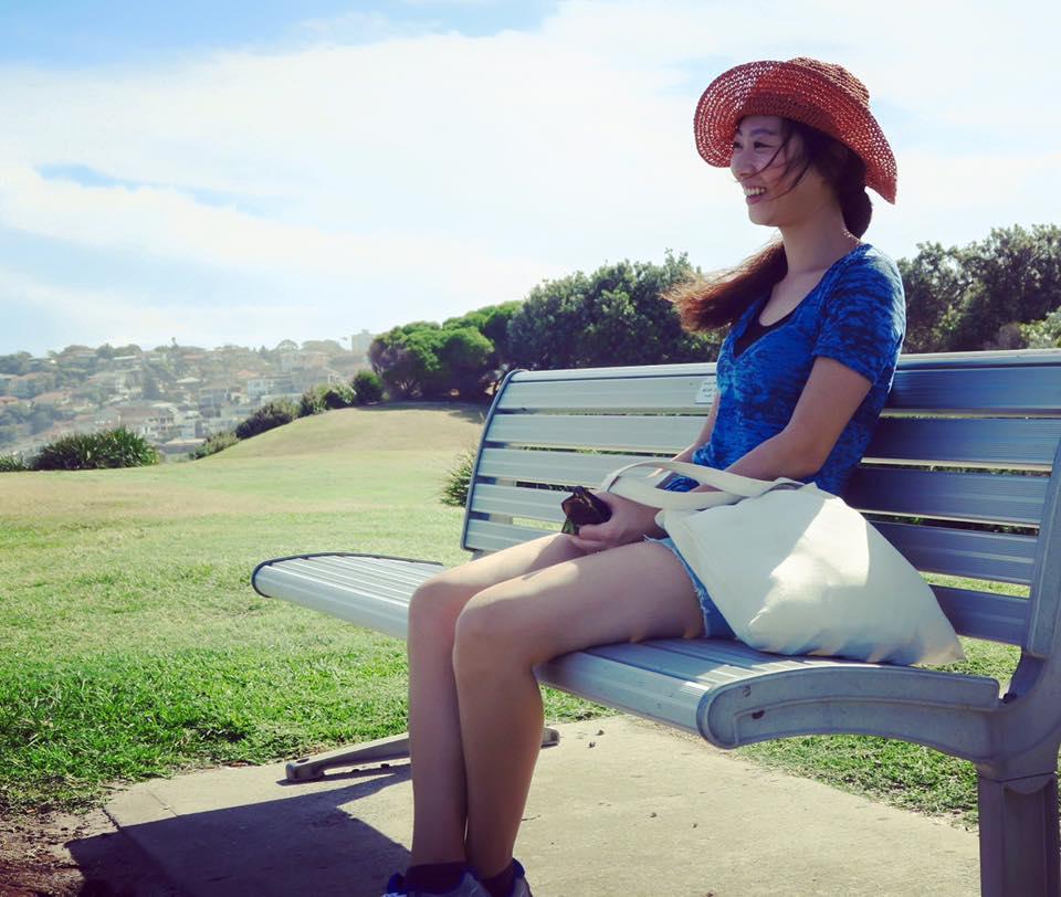 ein letztes Lächeln für Bondi Beach
